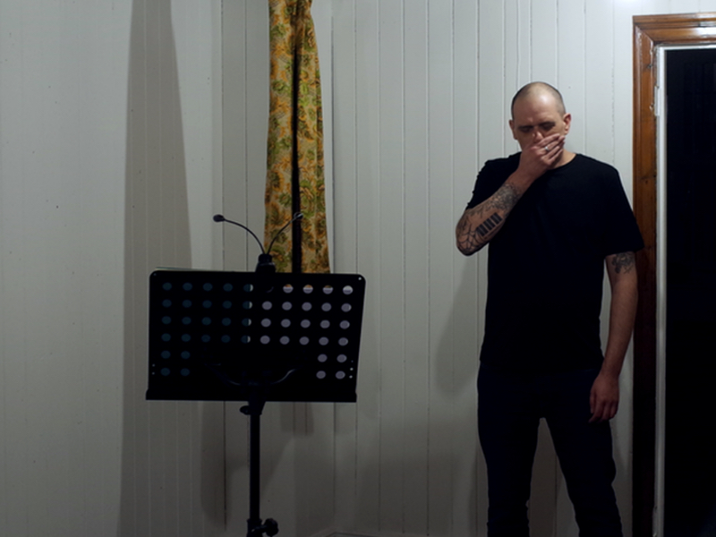 Mark Greenwood at Action Poetry
